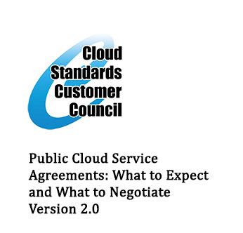 Agreements | Public Cloud Service Agreements What To Expect And What To