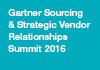 Gartner Sourcing & Strategic Vendor Relationships Summit 2016