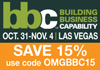 Building Business Capability. October 31 - November 4, 2016