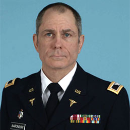 Colonel Jacob Aaronson, Office of Military Healthcare Systems Chief Healthcare Informatics Officer